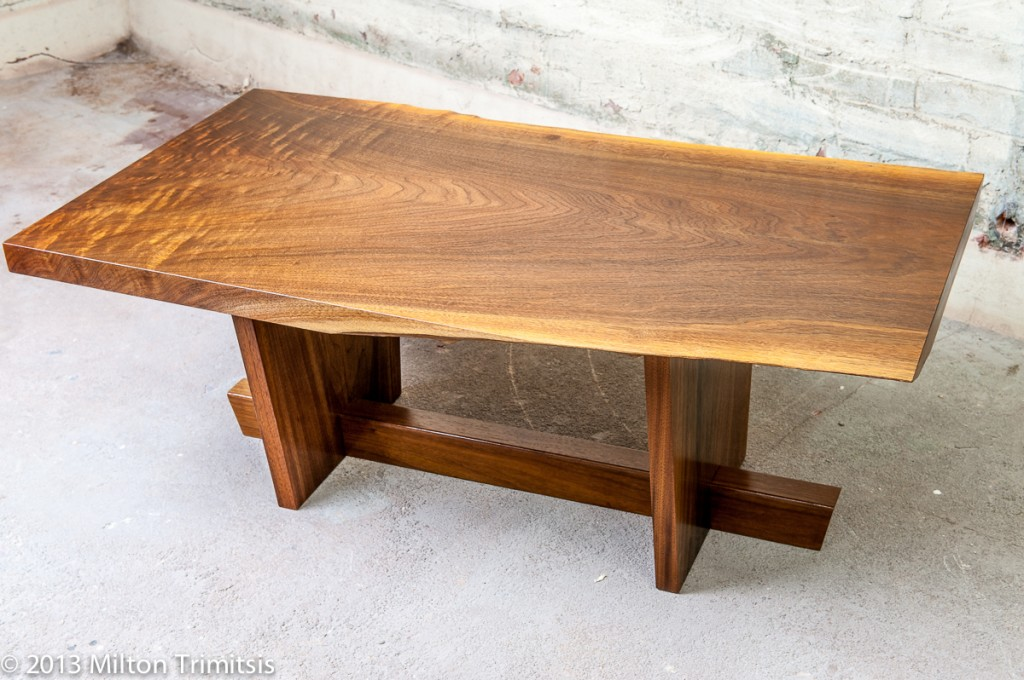 Another walnut coffee table in the style ofGeorge Nakashima