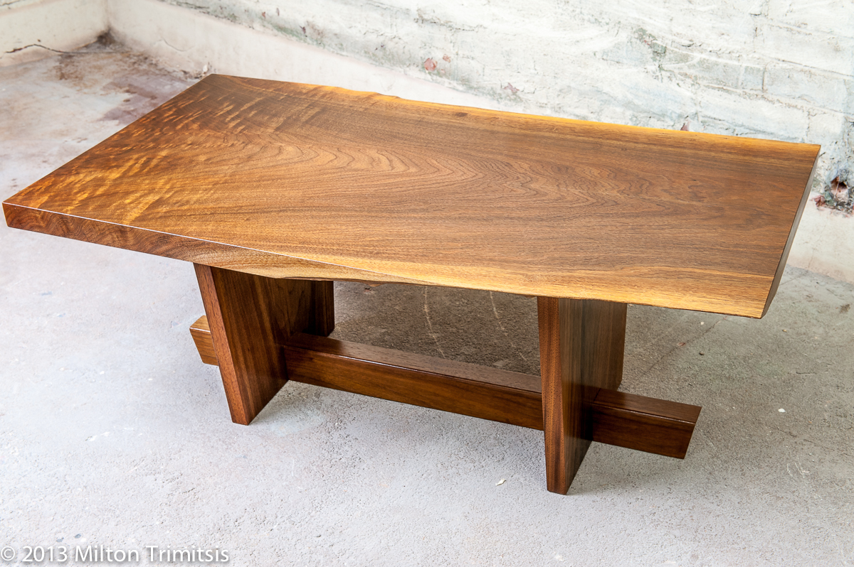 Nakashima Table nakashima table 2-1 | trimitsis woodworking weblog