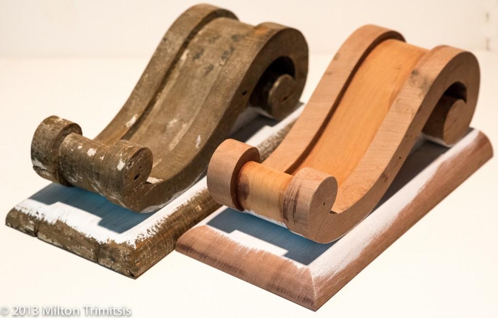 Original and reproduction decorative wood brackets