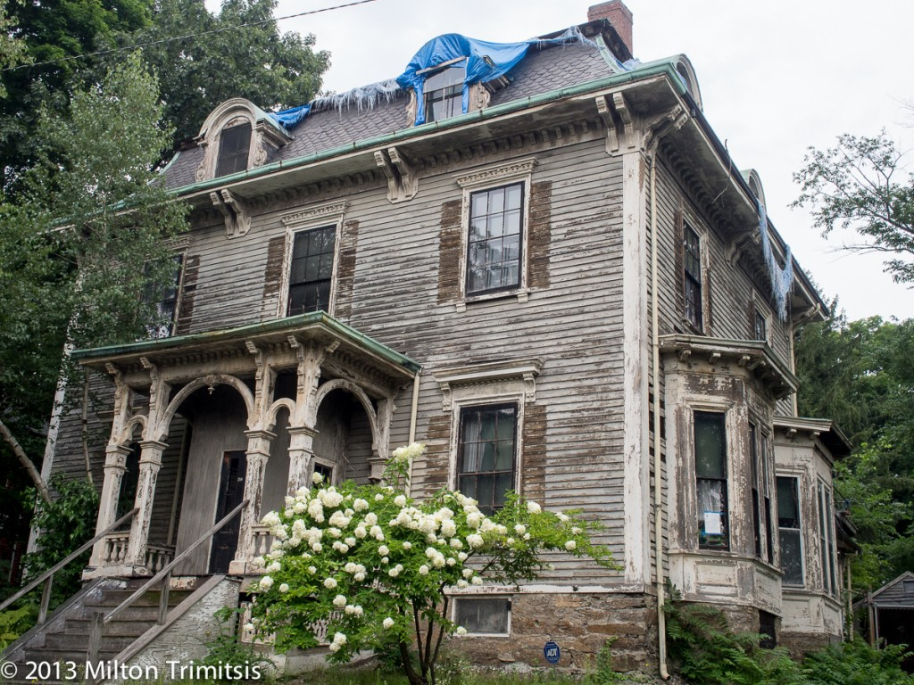 Old victorian house in need of repair