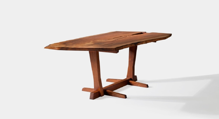 Dining room table made by George Nakashima