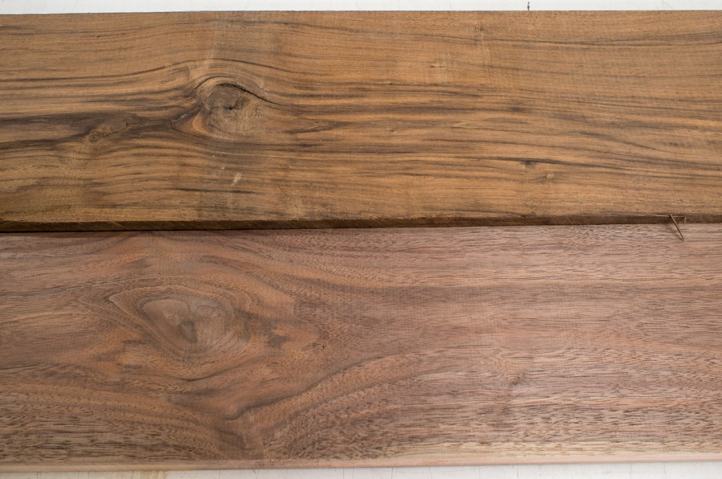 Claro walnut compared to eastern black walnut