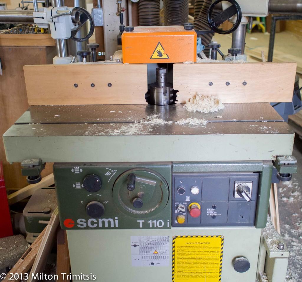 SCMi T 110i tilting-head shaper