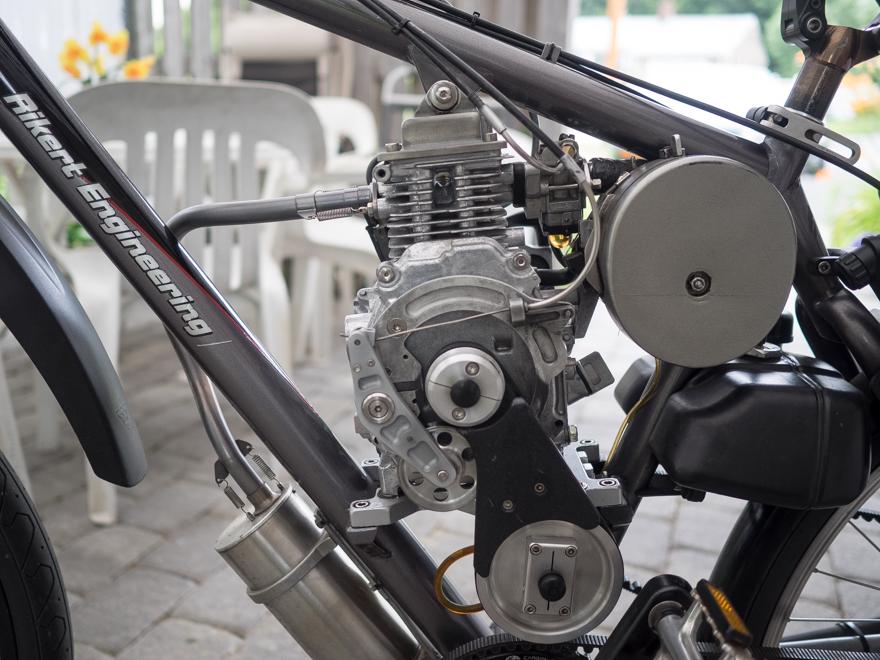 Steve Reichert's bike motor